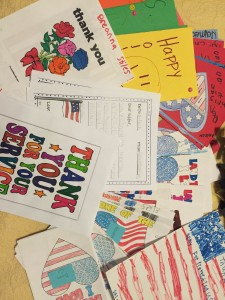 Veteran's Day Thank You Cards